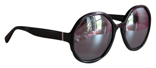 Marc Jacobs NEW Marc Jacobs MJ 584/S Geometric Round Mirrored Black Sunglasses
