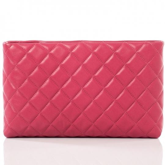 Chanel Clutch Kisslock CC Quilted Mini Classic Timeless Evening Frame Bag