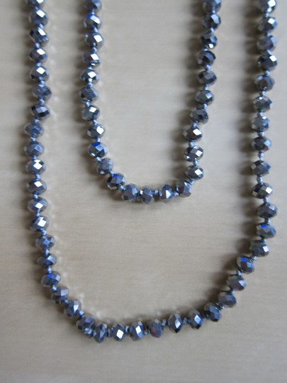 Olive and Bettes Brand New Olive and Bettes Silver Necklace and Ice Blue Bracelet