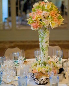 14 Very Large Glass Vase Centerpieces