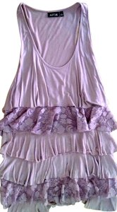 Apt. 9 Apt Size Large P1487 Top light purple