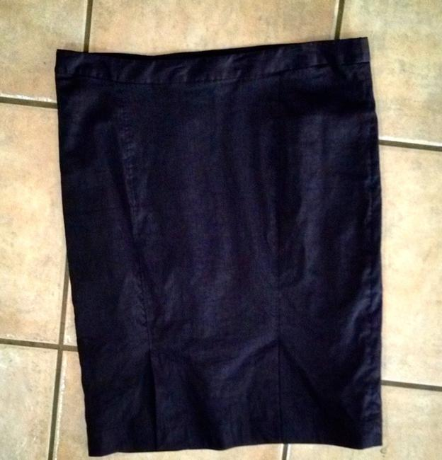 Max Studio Pencil Size 10 Skirt black