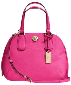 Coach Crossbag Mini Satchel in Pink