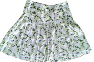 American Eagle Outfitters Size 4 Green P1489 Skirt green, white
