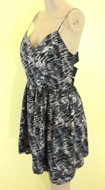 Other short dress Black/Grey multi on Tradesy