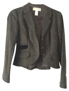 London Jean Classic Touch Of Edge Green and Velvet Blazer