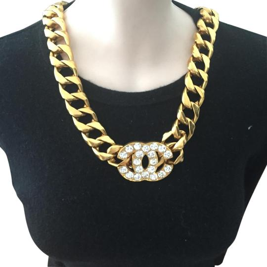 Chanel Chanel Authentic CC Belt, Necklace.
