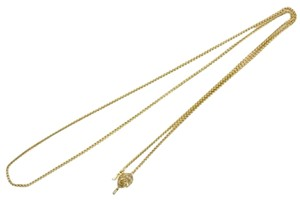 Chanel Chanel Necklace Gold Chain CCAV326