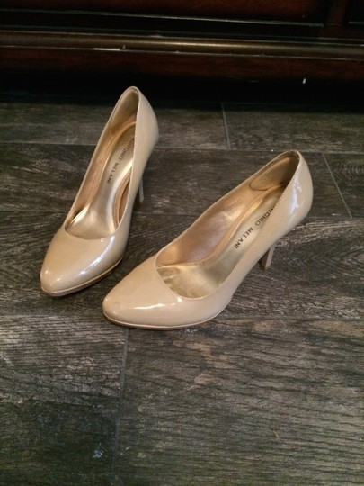 Kate Spade Nude with Multi color heel Pumps