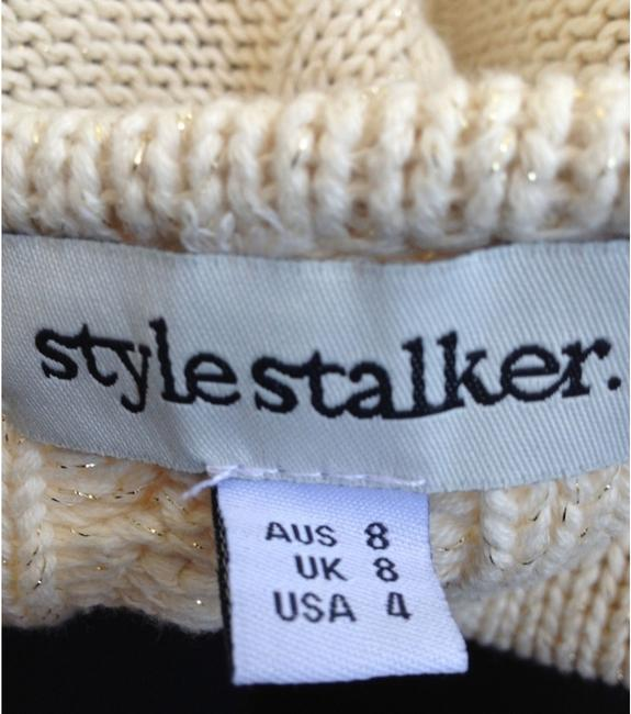 Stylestalker Metallic Winter Cardigan Sweater