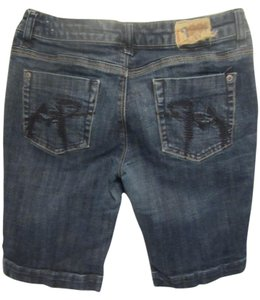 Chip and Pepper Bermuda Shorts blue denim