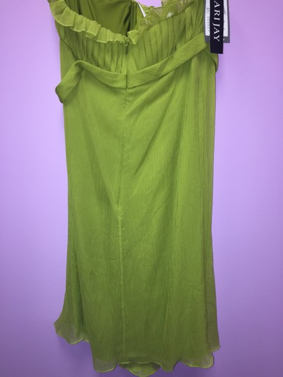 Bari Jay Forest Green 704 Formal Bridesmaid/Mob Dress Size 10 (M)