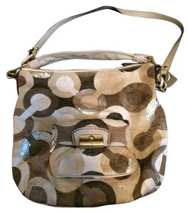 Coach Satchel in Signature Print