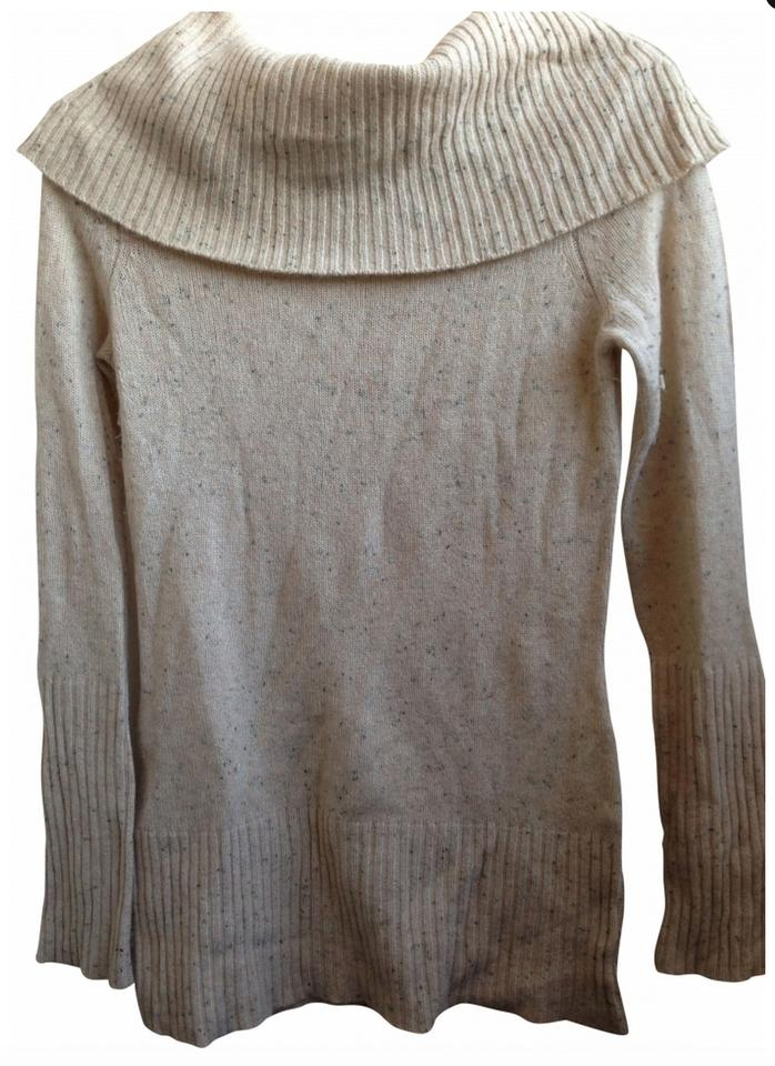 c0ecc1f6d17bf Saks Fifth Avenue Wild About Cashmere Beige Sweater - Tradesy