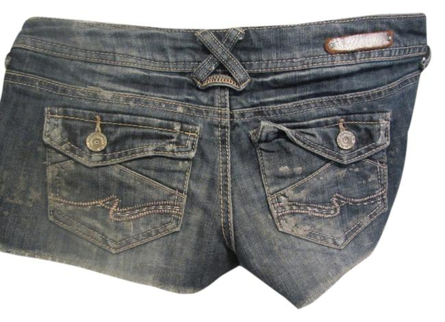 Almost Famous Clothing Cut Off Shorts blue denim