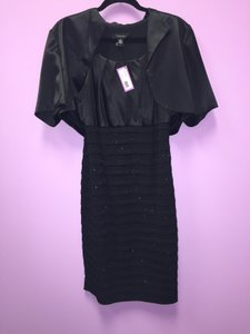 R & M Richards Black R&m Richards Mob Dress Dress