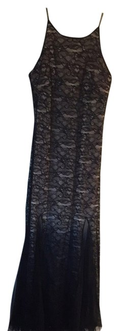 Preload https://item4.tradesy.com/images/badgley-mischka-dress-black-lace-with-tan-lining-4145023-0-0.jpg?width=400&height=650