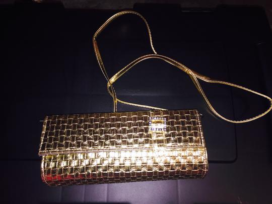 Other Gold with rhinestones Clutch