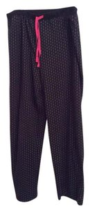 Ellen Tracy Pj Lounging Lounging Pj Lounging Pj Wide Leg Pants Black with white dots