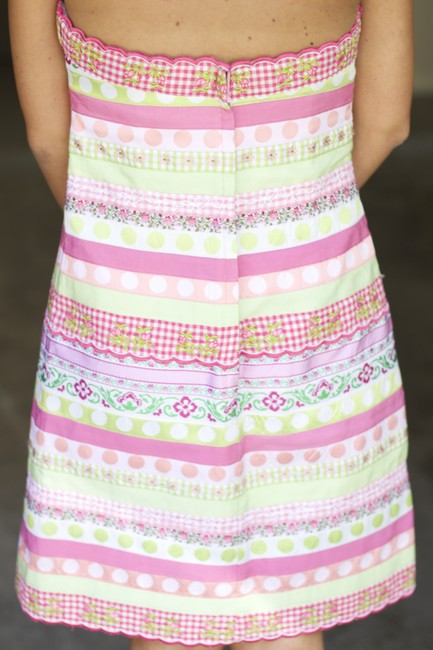 Lilly Pulitzer Strapless Cocktail Dress