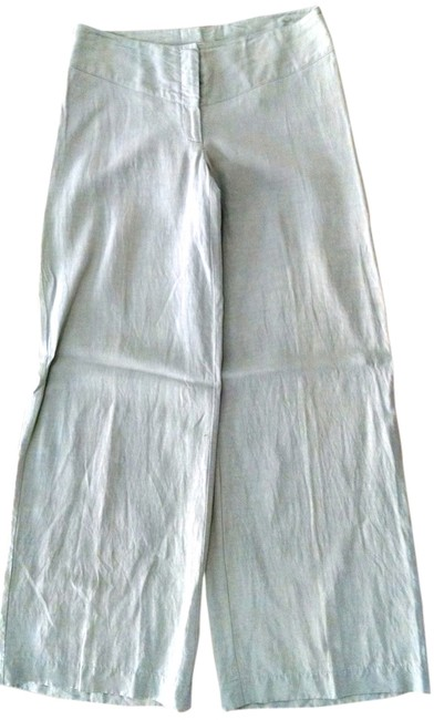 Kensie P1491 Size 10 Wide Leg Pants light beige