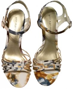 Ann Marino Teal - Multi Sandals