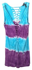 Buffalo David Bitton Tiedye Top Purple blue