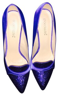 ShoeDazzle Royal Blue Pumps