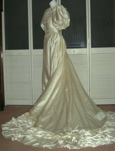Other Vintage Liquid Satin Cinderella Bridal Gown Wedding Dress Wedding Dress
