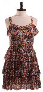 Hinge for Nordstrom short dress Floral/Multi on Tradesy