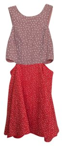 Lucca Couture short dress Red and Pink on Tradesy