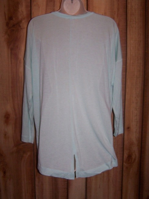Gap V-neck Fluid Comfortable Quince Smooth T Shirt Green