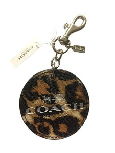 Coach NWT Coach Ocelot Horse Carriage Keyfob