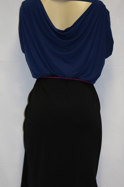 Laundry by Design short dress NAVY BLUE/ BLACK on Tradesy