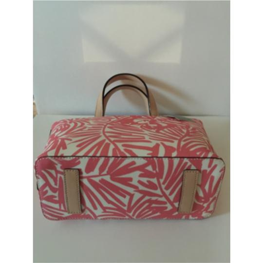 Kate Spade Satchel in Pink Palm Print