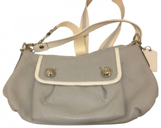 Preload https://item1.tradesy.com/images/coach-groovypoppy-collection-gray-leather-cross-body-bag-414835-0-0.jpg?width=440&height=440