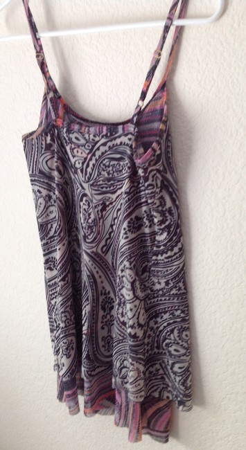 Sweet Pea by Stacy Frati Top Navy and White Patterned