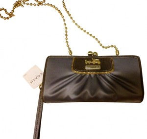 Coach Amanda Satin Clutch