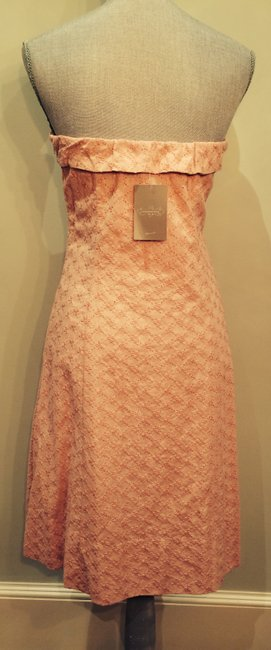 Odille Strapless Cotton Eyelet Fabric Dress