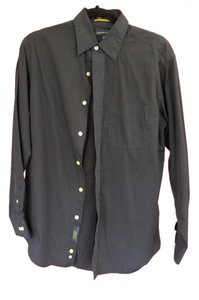 Cambridge Classic Button Down Shirt Black