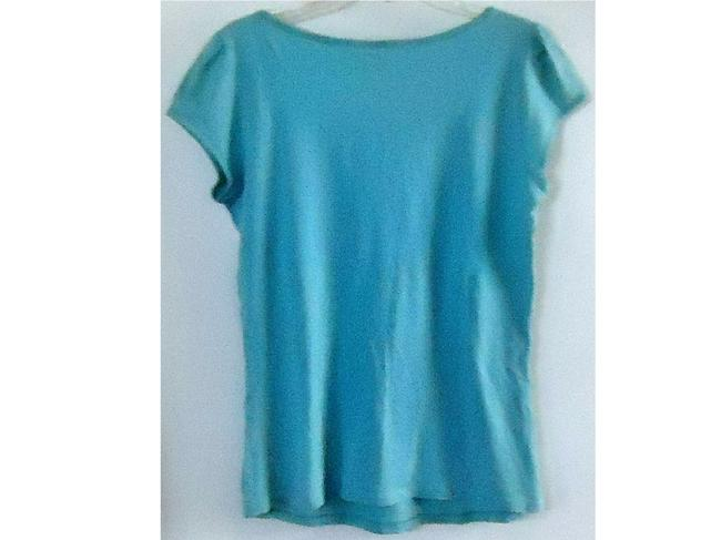 lucy Cotton Stretchy Top seafoam