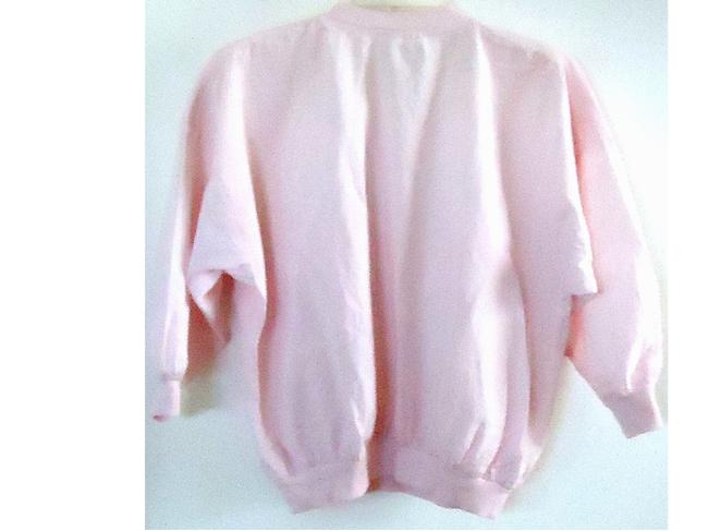 Ms. Paquette Cotton Elastic Top pink