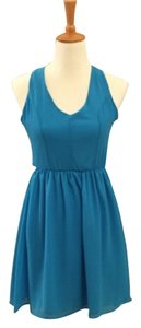dee elle short dress Turquoise on Tradesy