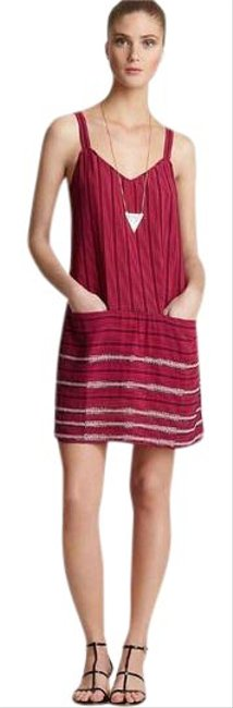 Theory short dress Red on Tradesy