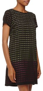 Michael Kors Color-blocking Geo Laser Cut Dress
