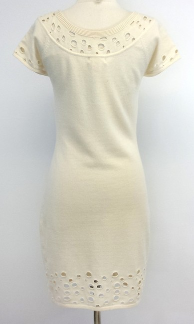 Catherine Malandrino short dress Cream Wool Cashmere Sweater on Tradesy