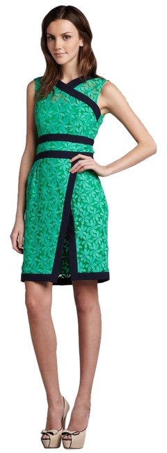 Preload https://img-static.tradesy.com/item/4150261/nanette-lepore-green-flower-power-short-night-out-dress-size-6-s-0-0-650-650.jpg