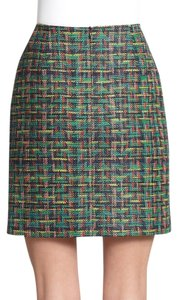 Akris Punto Tweed Mini Skirt Multi
