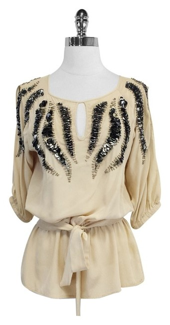 Preload https://img-static.tradesy.com/item/4150300/yoana-baraschi-beige-silk-beaded-blouse-size-4-s-0-0-650-650.jpg