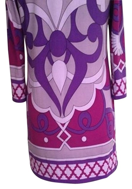 Preload https://item5.tradesy.com/images/purple-lilac-pucci-esque-print-jersey-knit-shift-mini-above-knee-cocktail-dress-size-6-s-4150549-0-2.jpg?width=400&height=650